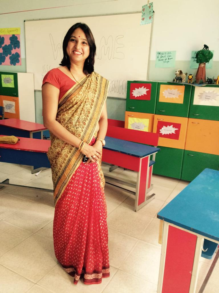 Madhu yadav as a teacher